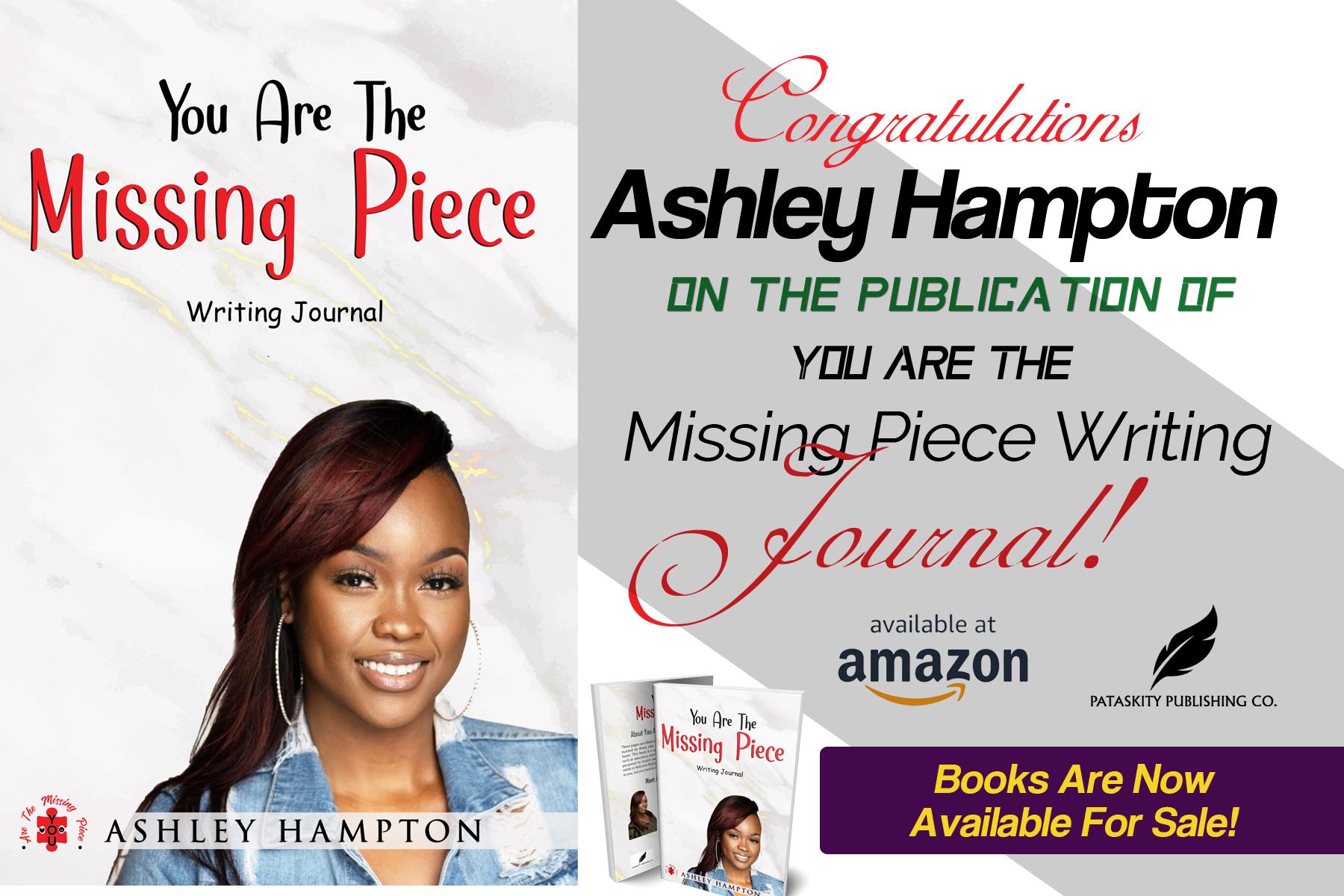 Pataskity Publishing celebrates Ashley Hampton