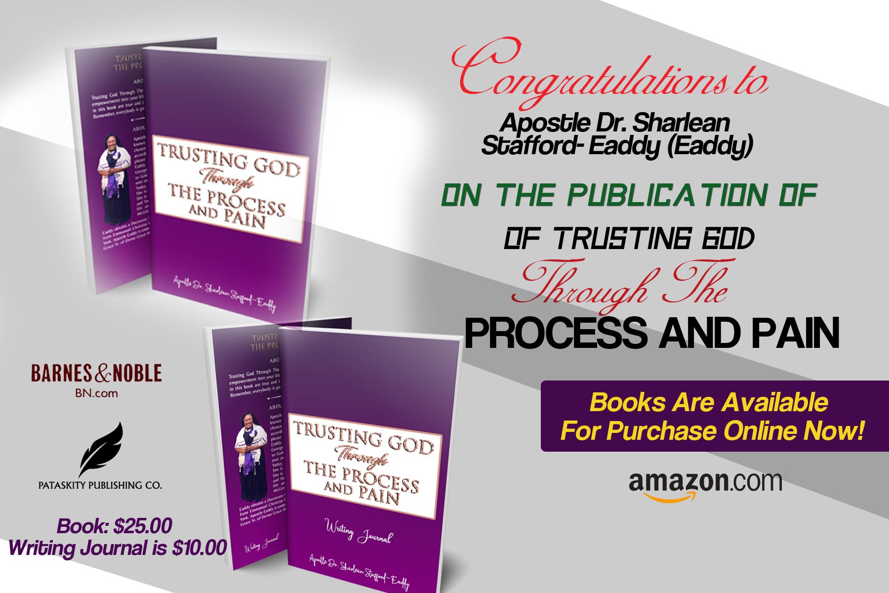Pataskity Celebrates Our Newest Published Author